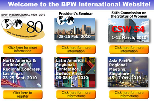 BPW International, Federation of Business and Professional Women